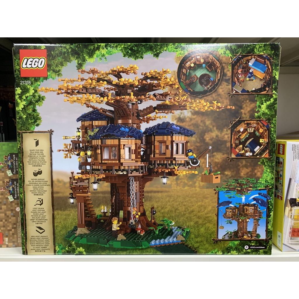 樂高LEGO Ideas系列 21318樹屋 四季變化 限量特價庫存