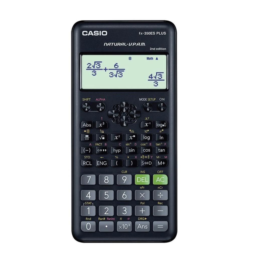 <秀>CASIO計算機工程用第二代FX-350ES PLUSII (NEW) 公司貨保固二年FX-350ES PLUS2