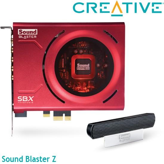 【MR3C】含稅附發票 台灣公司貨 CREATIVE創新未來 Sound Blaster Z PCI-E音效卡