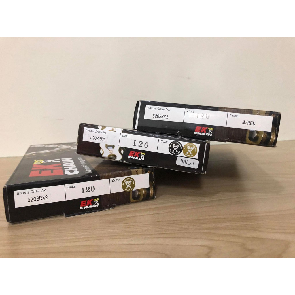 EK 525 SRX2 525SRX2 120L 油封鏈條 含活目