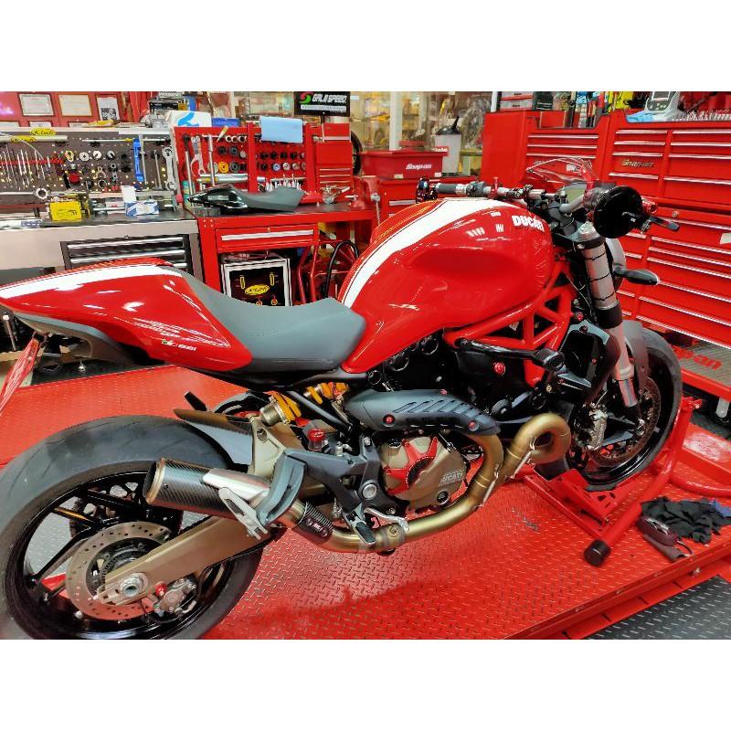 Ducati monster821 sc 尾段 排氣管