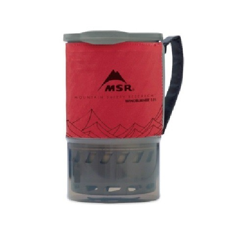 MSR WindBurner 效率系統爐 1.0L 06464/09219 登山露營野營 煮水 聚熱鍋