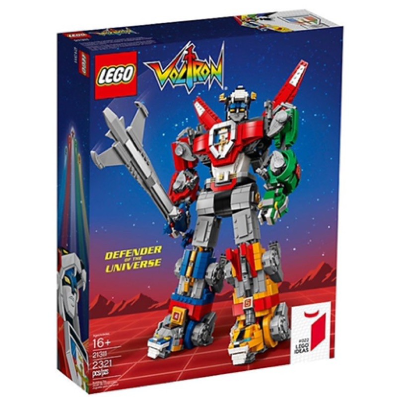 樂高Lego- IDEAS 全新未拆 21311 聖戰士/百獸王/五獅合體  Voltron 全新未拆