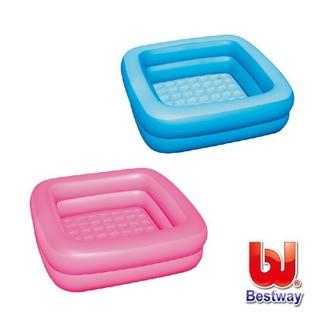 《Bestway》寶寶方型充氣浴盆-藍、粉紅(69-10421) 新北市