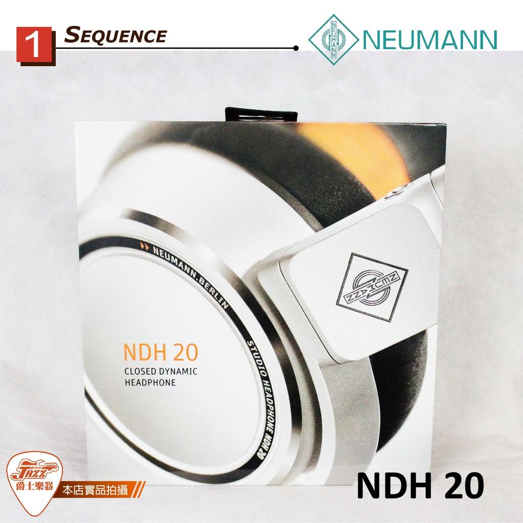 【爵士樂器】Neumann NDH 20 頂級監聽耳機 錄音室 混音監聽 附收納袋 公司貨