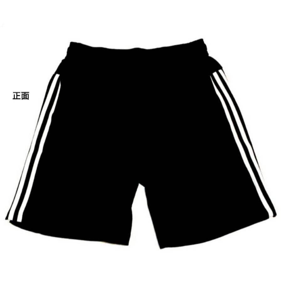Adidas 運動短褲 三線基本款 黑白百搭 運動褲