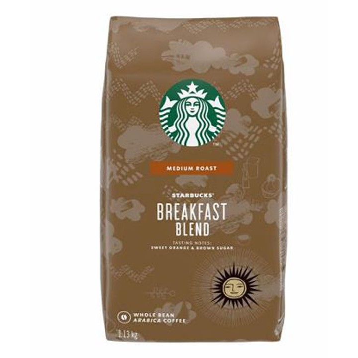 Starbucks Breakfast 早餐綜合咖啡豆 1.13公斤 C614575