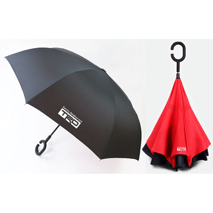 4S定制反向傘雙層抗風防曬傘豐田TRD汽車雨傘禮物禮品紀念傘