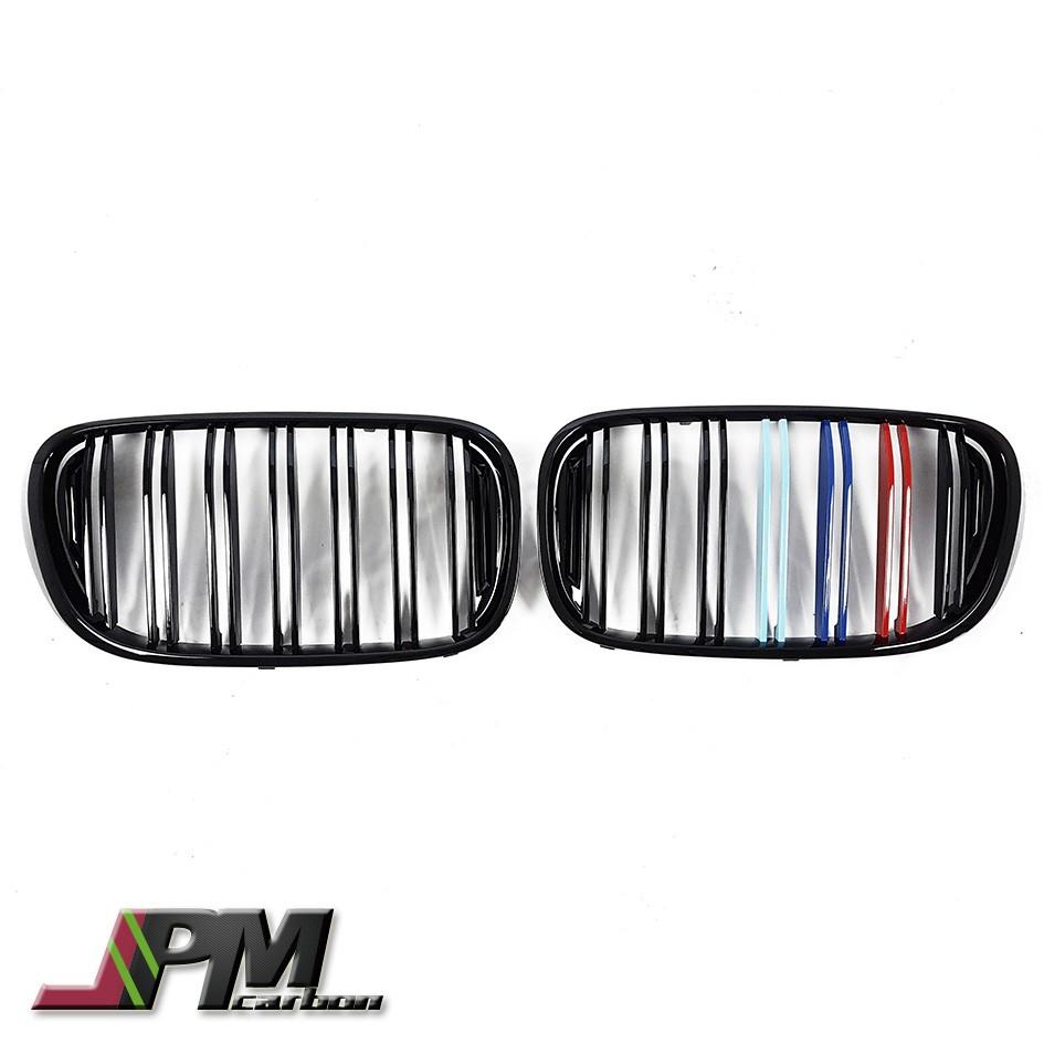 全新 BMW G11 G12 7系列 M LOOK 亮黑+三色 Grille 水箱罩 大鼻頭 水箱護罩