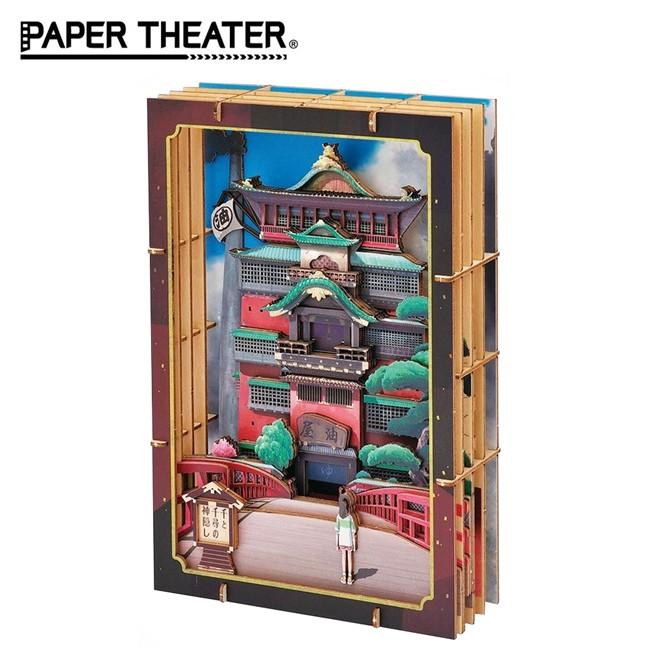 含稅 紙劇場 神隱少女 木製風格 Wood Style 油屋模型 無臉男 宮崎駿 PAPER THEATER 日本正版