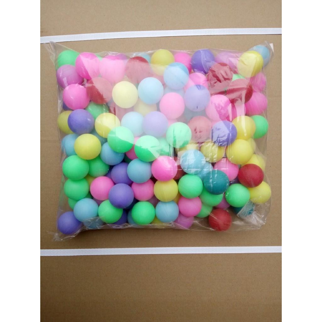 ♟▬﹍彩色乒乓球40mm 無縫磨砂加硬彩色抽獎球乒乓球 多色可選 摸彩球 扭蛋 轉蛋 摸彩機