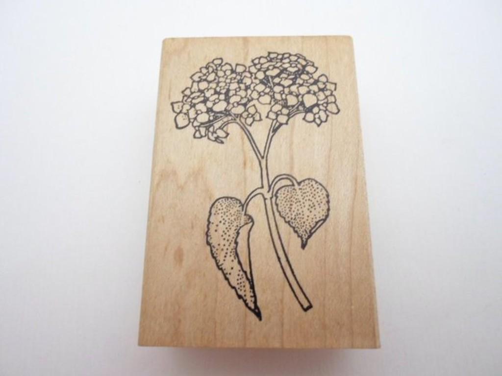 【菲比的寶貝屋】~~ Judi Kins 木頭印章 1541F Hydrangea ~~ 僅此一個