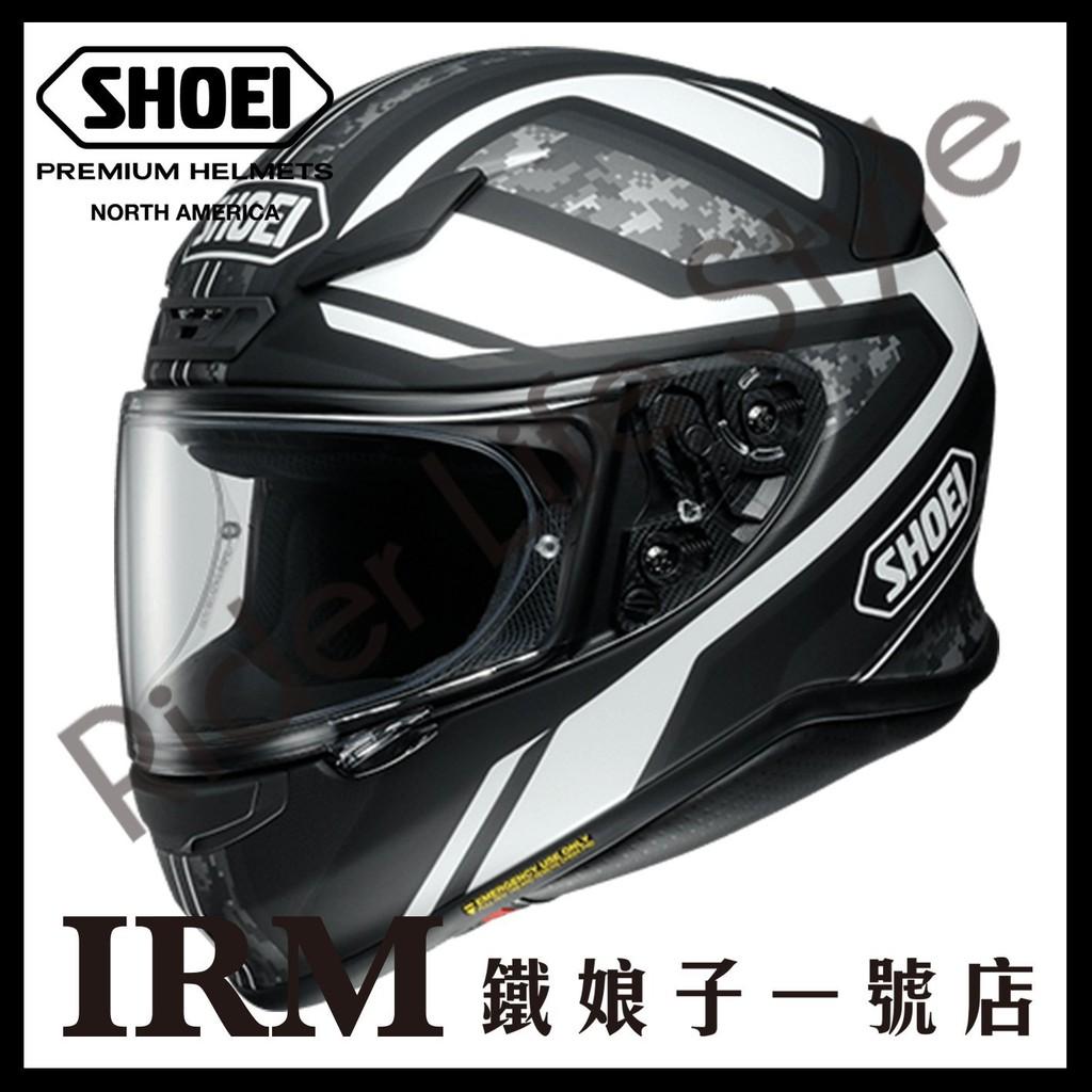 【鐵娘子一號店】日本 SHOEI Z-7 輕量 透氣 Z7 快拆鏡片 PARAMETER TC-5 黑白 安全帽