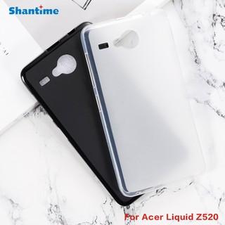 適用於Acer Liquid Z520 Gel矽膠電話保護性後殼柔軟TPU外殼