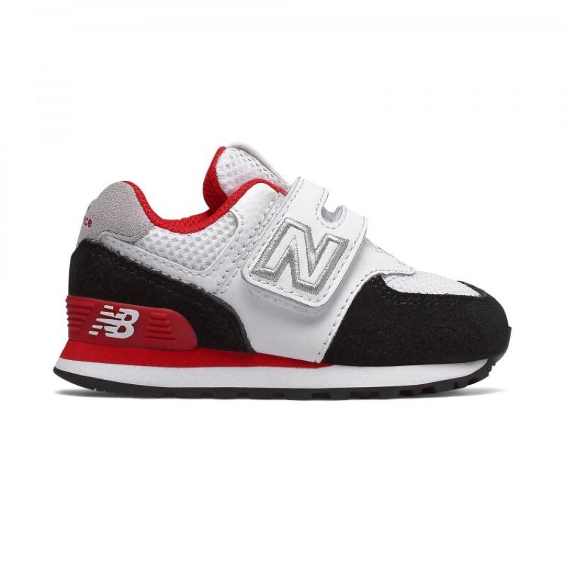 [New balance] 574 兒童休閒運動鞋 小童 白 IV574NSB 《曼哈頓運動休閒館》