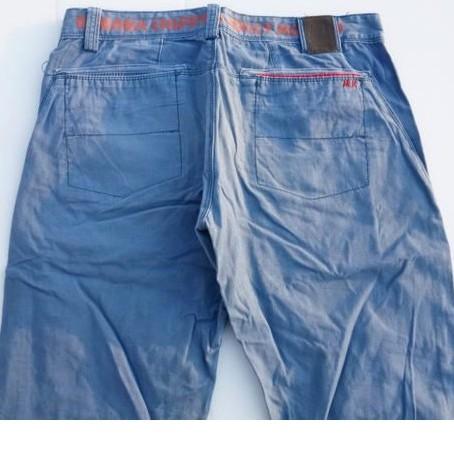 二手男裝出清C089 品牌BANANA CHIPPY馬桶洋行 藍色牛仔褲休閒褲 L號 休閒褲