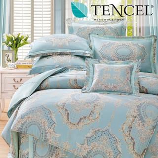 60支100%純天絲TENCEL【雙人 加大 特大組合】規格可選  兩用被床包四件組 七件式鋪棉床罩組 蒂芬妮 台中市