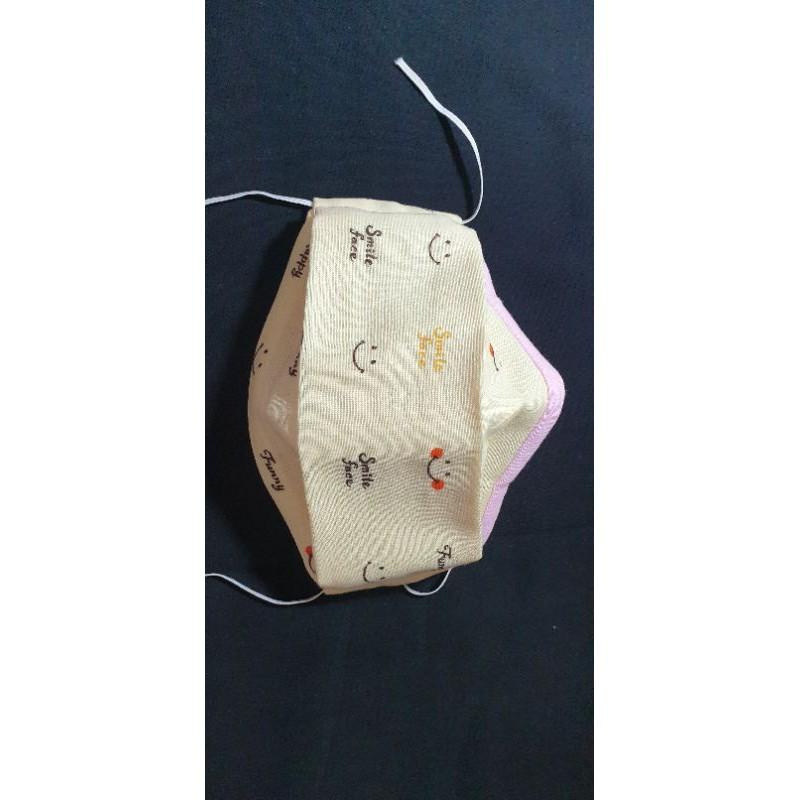 布口罩(舟型)(二面二重紗)
