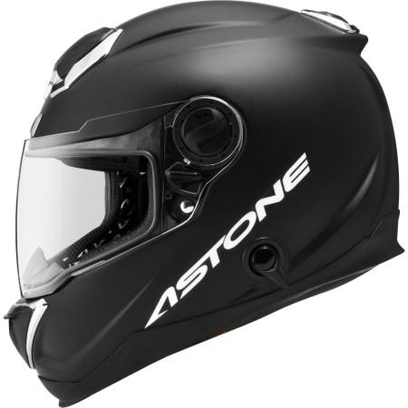 鼎泰安全帽 ASTONE GT1000F 素色 平光黑 全罩 碳纖維 安全帽 內置墨片 (送防摔手套)