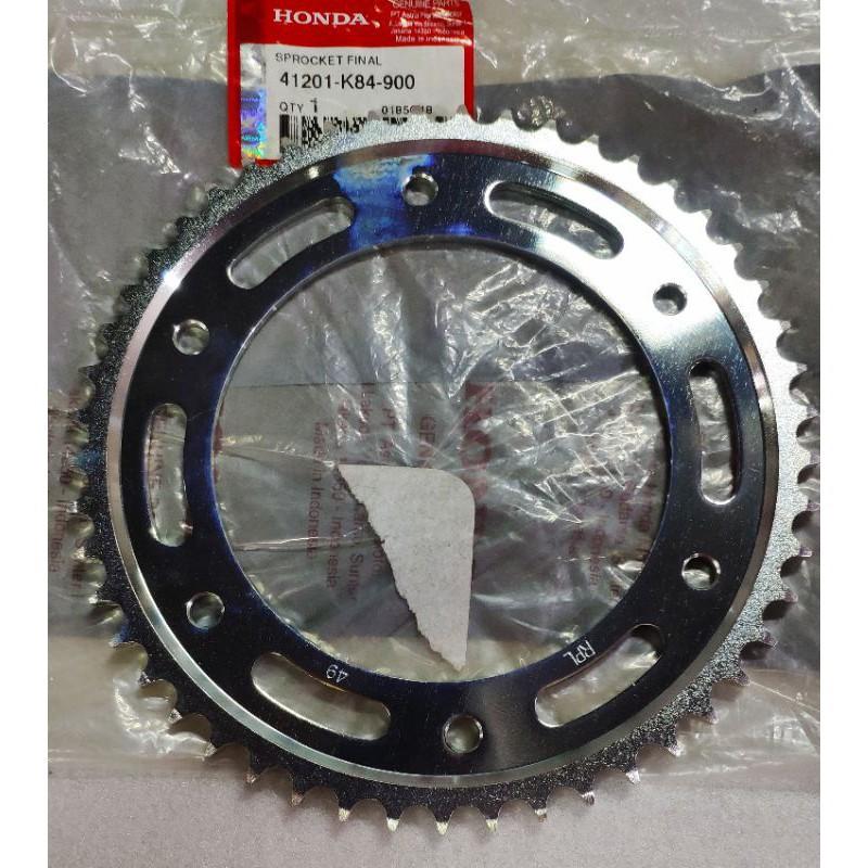 HONDA CRF 150 後齒盤 齒盤 原廠品 41201-K84-900 CRF150