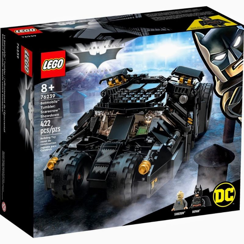 [台中可自取] 現貨 樂高 LEGO 76239 蝙蝠車:稻草人的最後決戰 超級英雄系列
