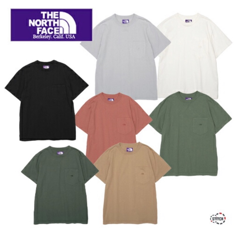 [預購][需客訂] 北臉北面 日本限定紫標 短袖上衣 7OZ重磅THE NORTH FACE PURPLELABEL