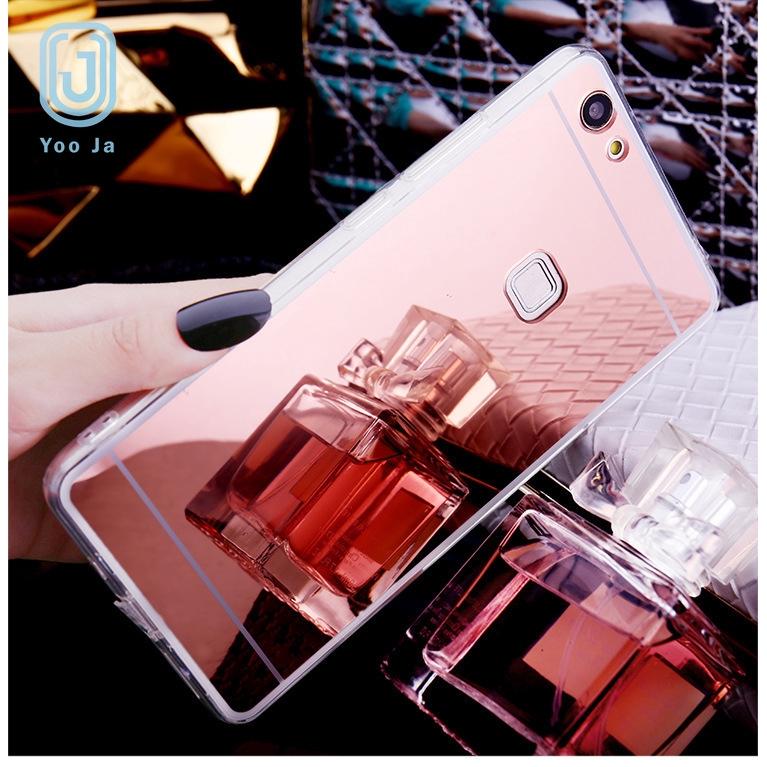 OPPO鏡面TPU軟殼 補妝鏡子手機殼 適用於OPPO A5 A9 2020 Reno Z 3 Realme 5 Pro