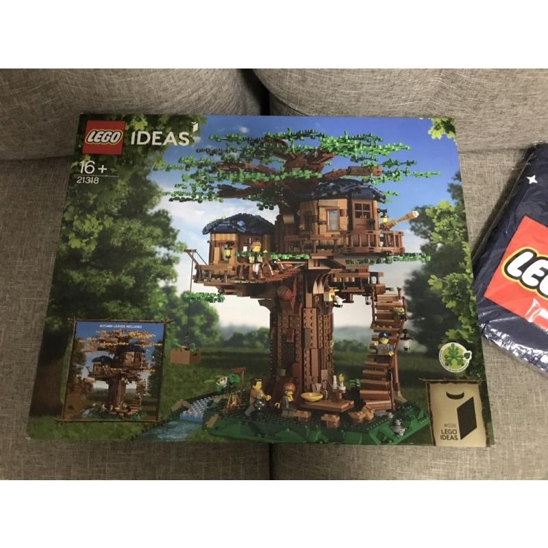 全新未拆 樂高 LEGO 21318 樹屋