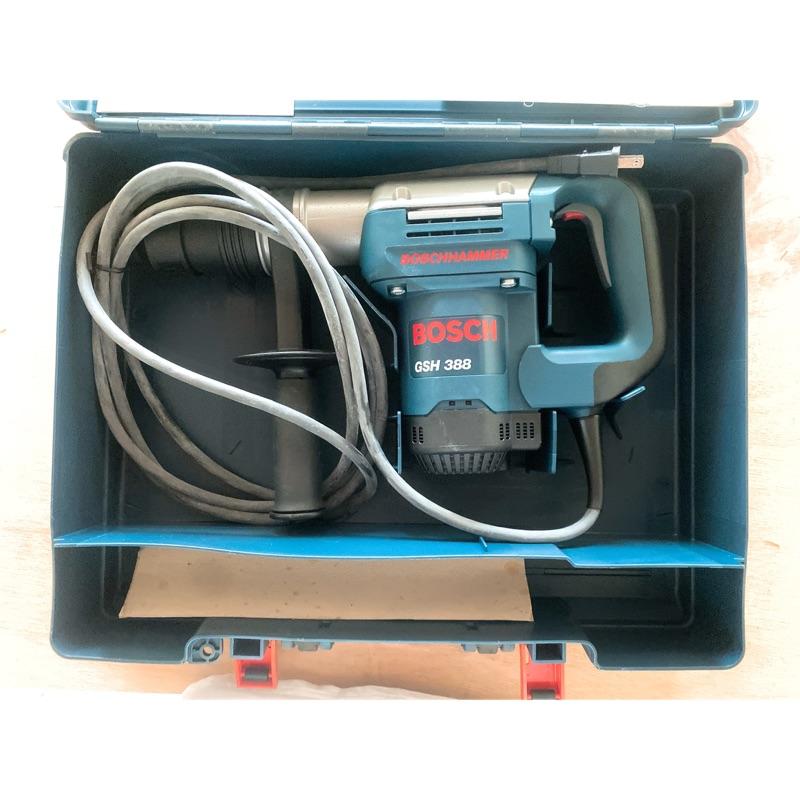 插電電鎚 Bosch 博世 GSH 388 五溝電鎚 德國製 (含稅)