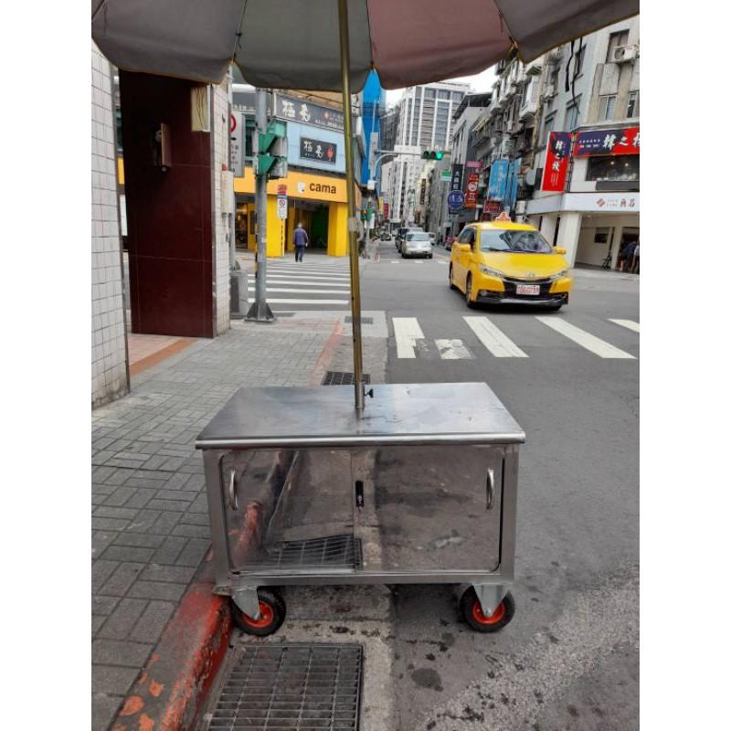 攤車包含雨傘(賣果汁 鹹水雞 滷味皆可)