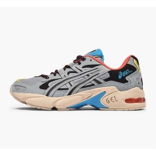 全新 ASICS TIGER GEL KAYANO 5 OG GREY 灰紅藍 1191A148 020 男女