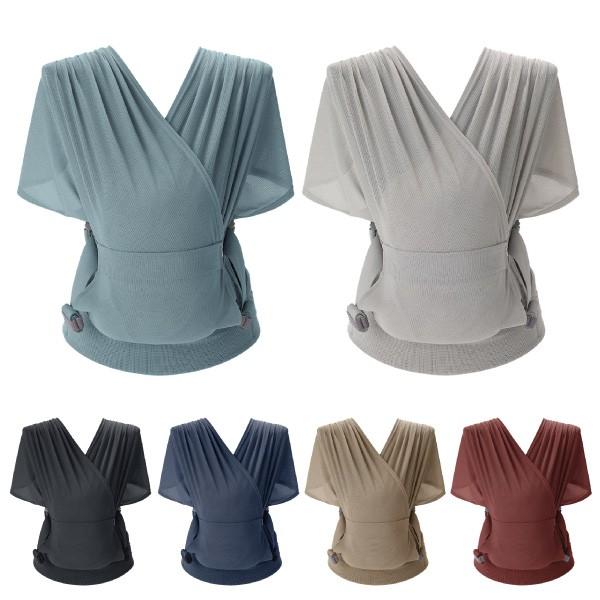 韓國 Pognae Step One Air 抗UV包覆式新生兒揹巾(6色可選)【麗兒采家】【贈紗布巾三入組】