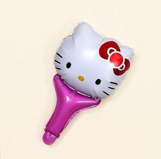 🎈 Hello Kitty 哆啦A夢 卡通手持氣球棒 小叮噹 KT貓兒童可愛卡通氣球 打擊棒 打氣棒 派對生日佈置道具