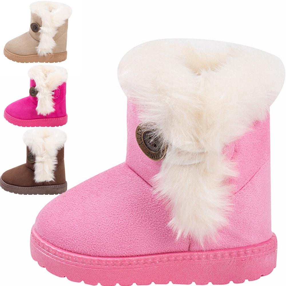現貨出售 兒童秋冬鞋子女寶寶雪地靴寶寶保暖低筒中童小童大童兒童男女小孩棉鞋雪地靴棉靴