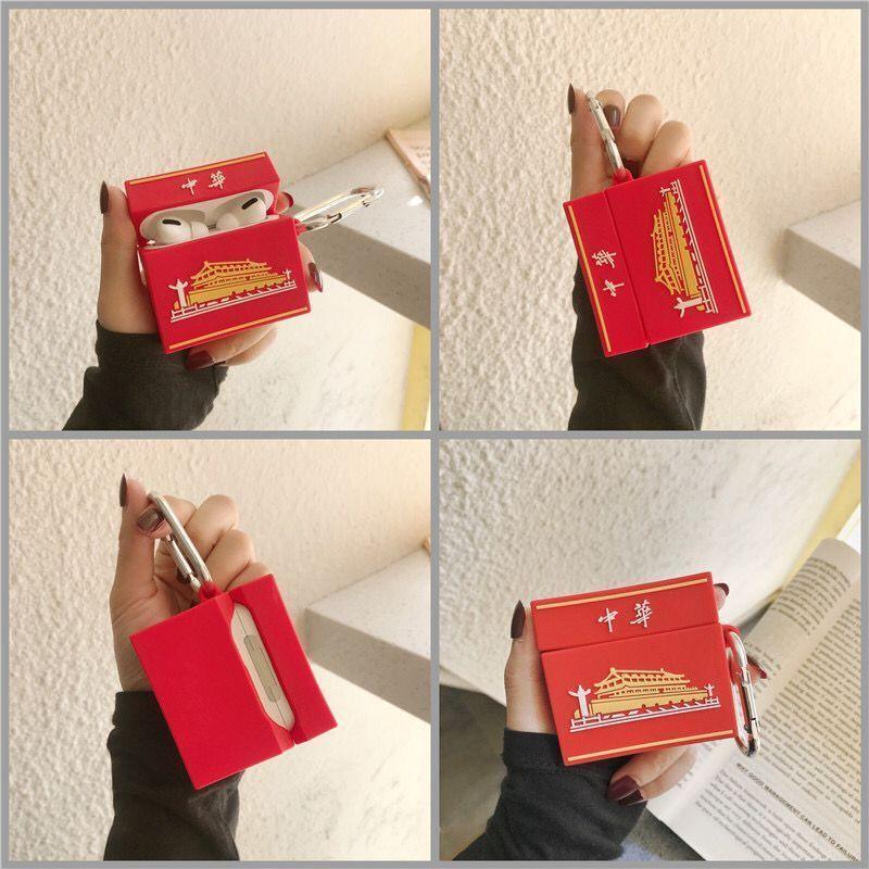 創意個性煙盒適用于蘋果airpods pro保護套硅膠airpods1/2耳機殼.