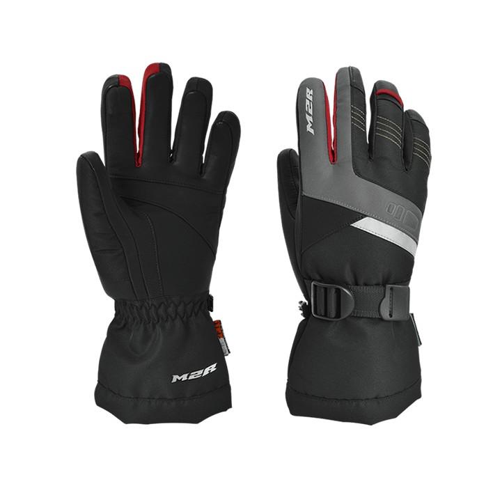 M2R G-21 G21  黑紅 騎士手套防水 防寒 內刷毛 可觸控 羊皮 手套 長版手套 G21