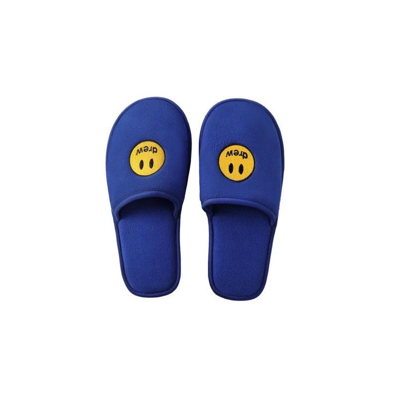 drew house 藍色拖鞋