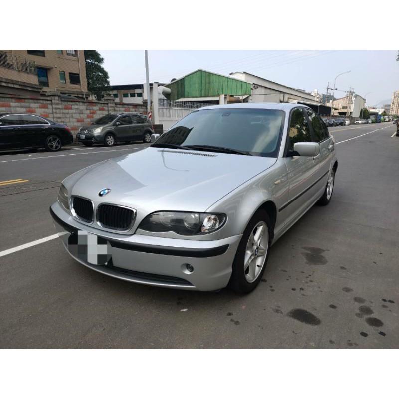 2002年BMW 318 2.0小改款,售價98,000