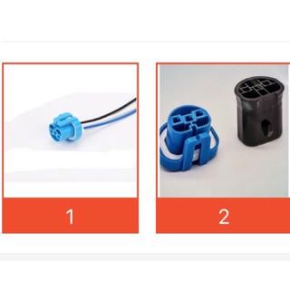 9004 HB5大燈插座陶瓷汽車燈泡插座燈泡插頭母插線束