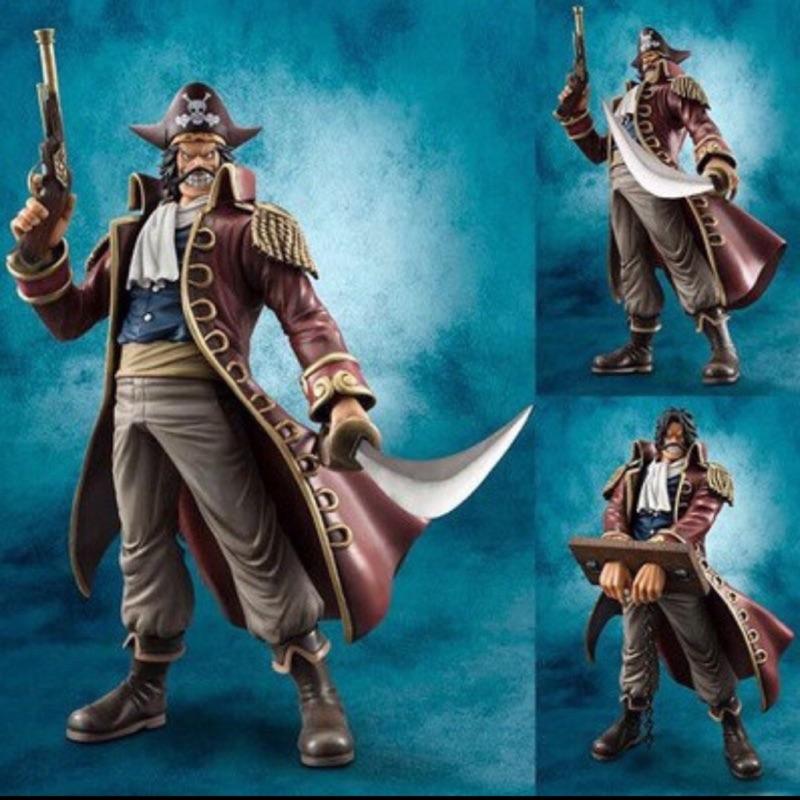 全新巨無霸盒21*21*30.5cm  航海王海賊王 POP NEO DX 羅傑海賊團 船長 哥爾.D.羅傑公仔