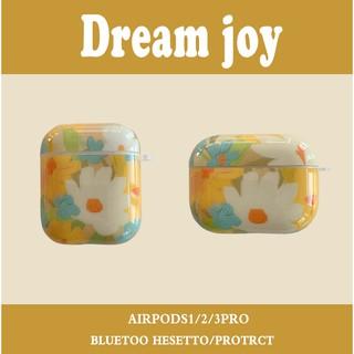 21亲斤藝術油畫菊花適用airpods pro3代保護套個性蘋果藍牙耳機2代軟殼2625 桃園市