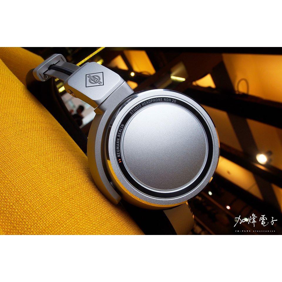 「JM-Plus 加煒電子」【 Neumann NDH 20 】專業 監聽 後製 混音 可換線 耳罩 公司貨 保固一年