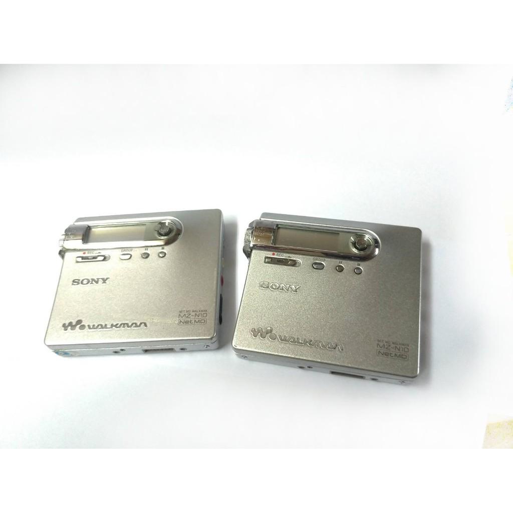 ☆手機寶藏點☆  SONY MZ-N10 MD 錄放隨身聽 錄放機 錄音筆 密錄 CD撥放 錄音宋420