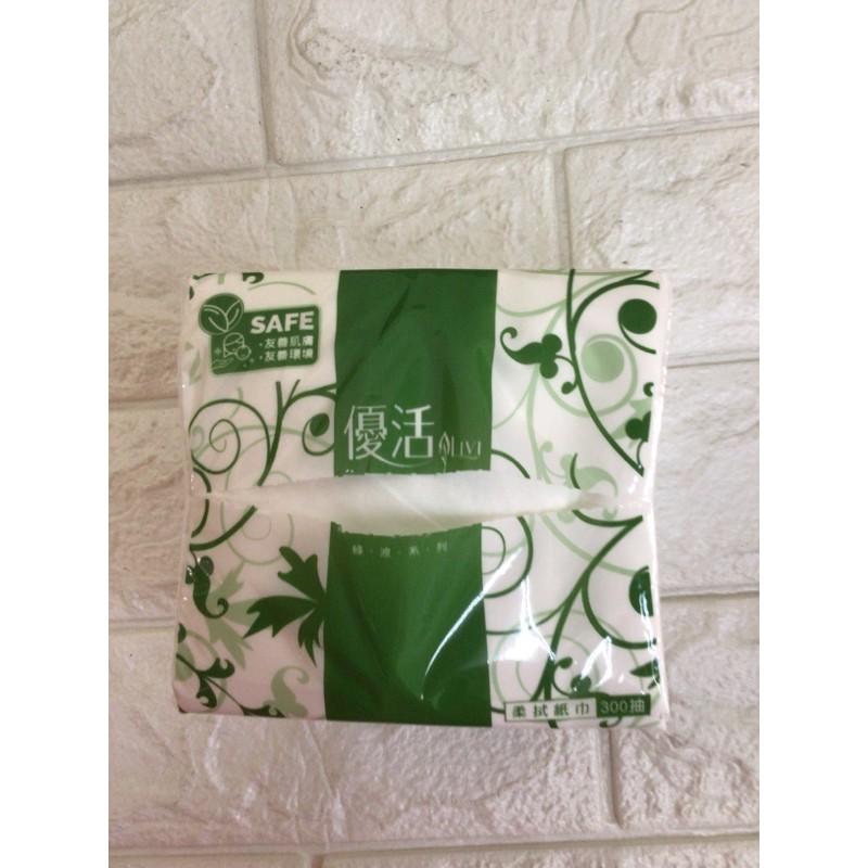 現貨 (現貨)LiVi 優活揉拭紙巾(單包)、抽取式衛生紙300抽