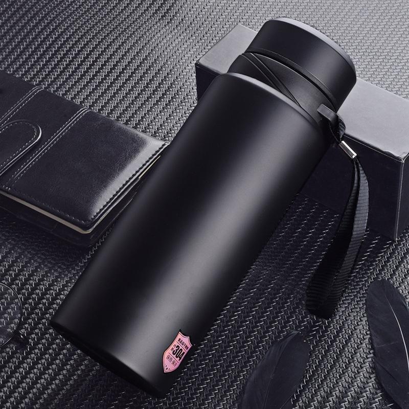 商務保溫杯大容量保溫杯不銹鋼真空運動保溫壺車載水杯