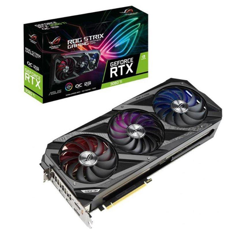 全新 華碩 ROG-STRIX-RTX3080TI-O12G-GAMING 電競遊戲臺式顯卡