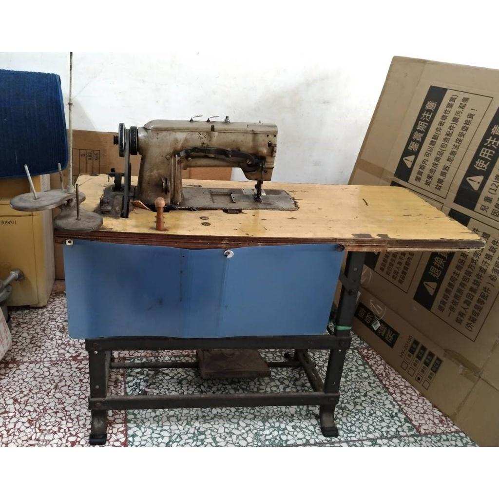 二手) 三菱雙針平車 工業針車 縫紉機 工業平車