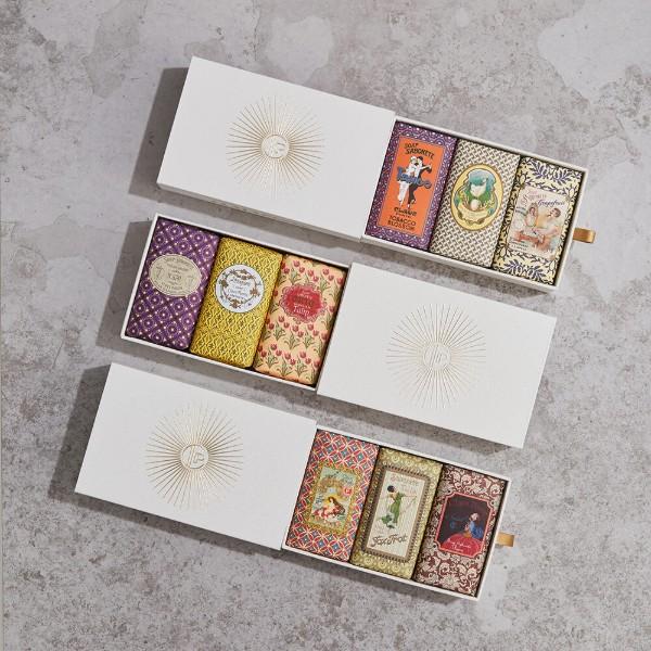 【Claus Porto】手工蠟封復古香氛皂禮盒組(150g × 3入) (共三款可選)