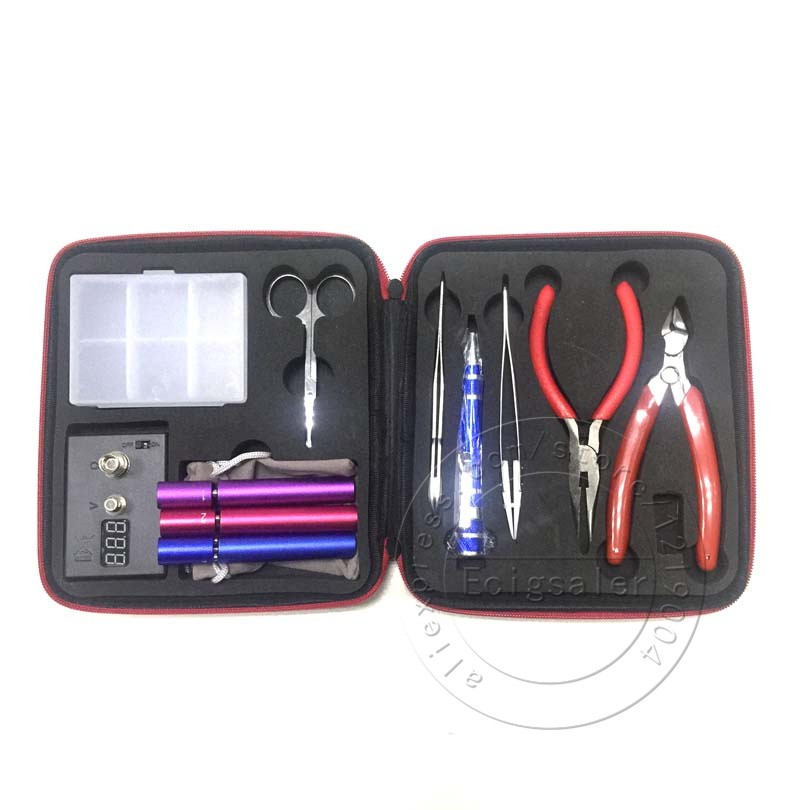 新款五金維修 第一代工具包套裝 DIY維修工具包 工具組 (含歐姆機 斜口鉗 尖嘴鉗 彎頭夾 陶瓷鎳子)