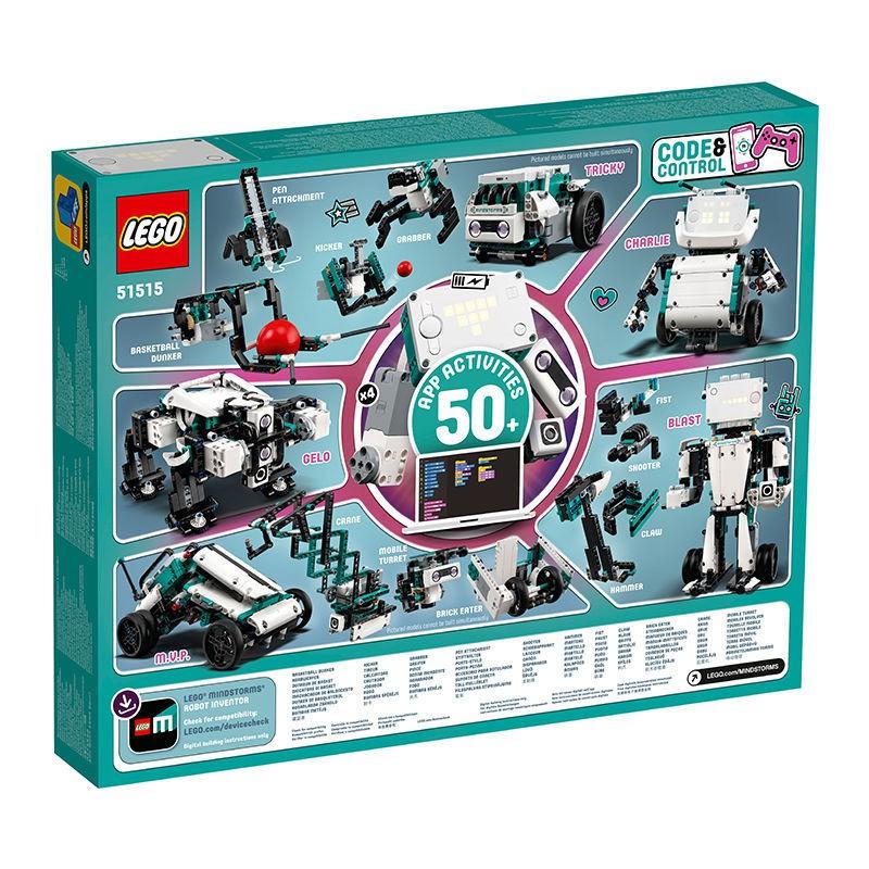 囡囡の解憂鋪LEGO/樂高51515科技組EV3第四代頭腦風暴5合1編程機器人發明家